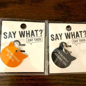 Cat Tags (New in Package)